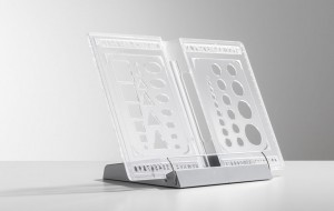 HALLNING - WINNER TRANSPARENT BOOK HOLDER