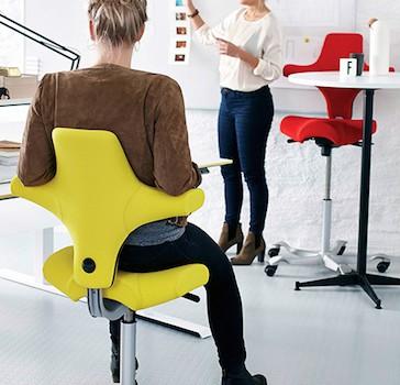 Ergonomic Capisco Puls Chair