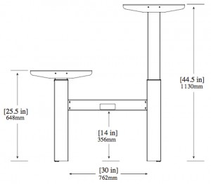 HALLNING - HST BENCH Height Adjustment