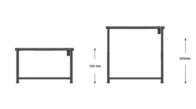 HALLNING-HST Lumin Series Height